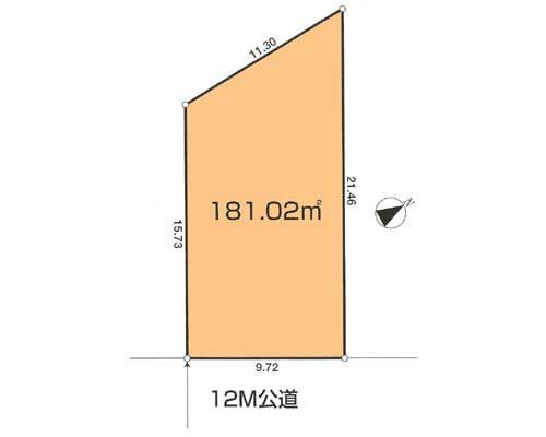 西多摩郡瑞穂町 JR八高線箱根ヶ崎駅の売事業用地画像(1)