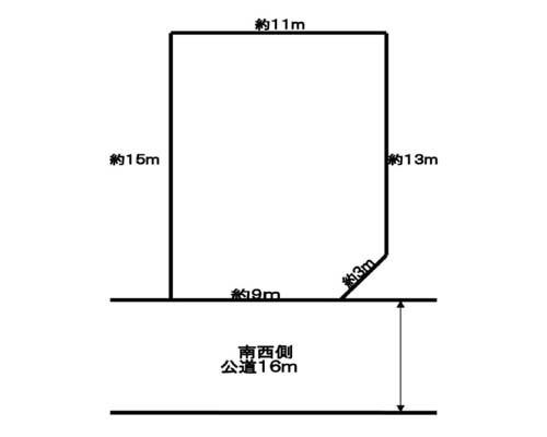 羽村市 JR青梅線羽村駅の売事業用地画像(1)