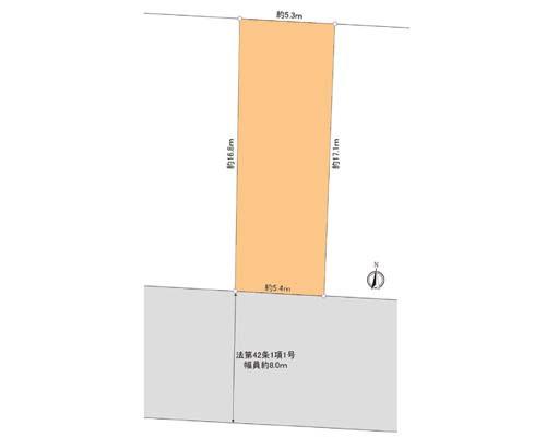 台東区 日比谷線入谷駅の売事業用地画像(1)