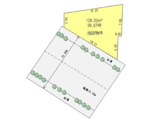 練馬区 大江戸線練馬春日町駅の売事業用地画像(1)