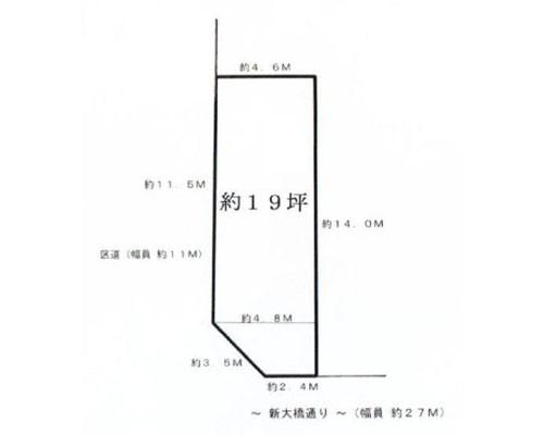 墨田区 都営新宿線菊川駅の売事業用地画像(1)