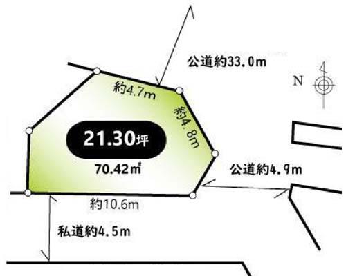 練馬区 西武池袋線大泉学園前の売事業用地画像(1)