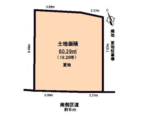 練馬区 西武池袋線富士見台駅の売事業用地画像(1)