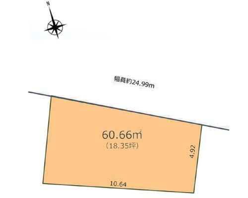 練馬区 西武池袋線中村橋駅の売事業用地画像(1)