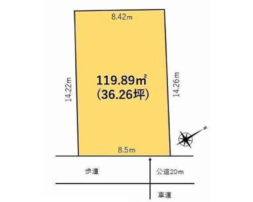 大田区 JR京浜東北線大森駅の売事業用地画像(1)
