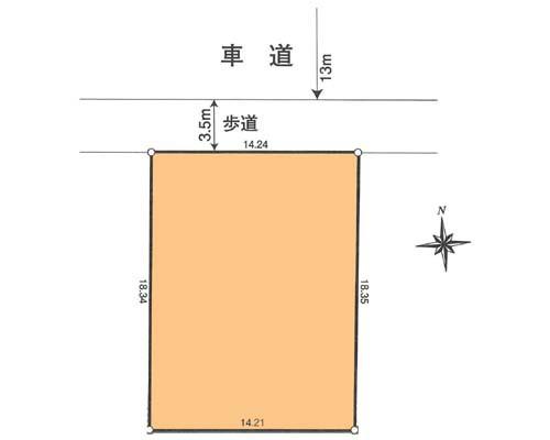 青梅市 JR青梅線河辺駅の売事業用地画像(1)