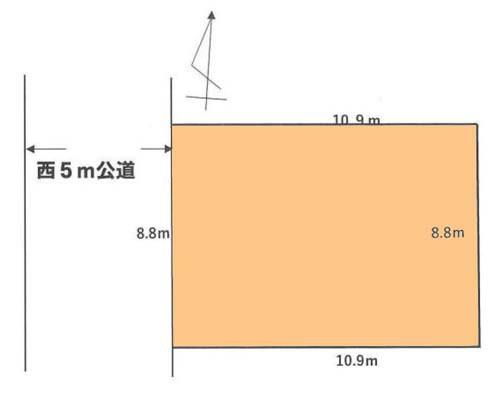 稲城市 JR南武線南多摩駅の売事業用地画像(1)