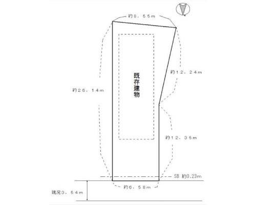 江東区 都営大江戸線森下駅の売事業用地画像(1)