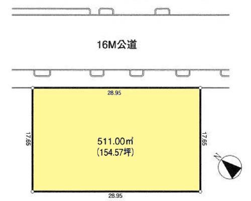 福生市 JR青梅線牛浜駅の売事業用地画像(1)