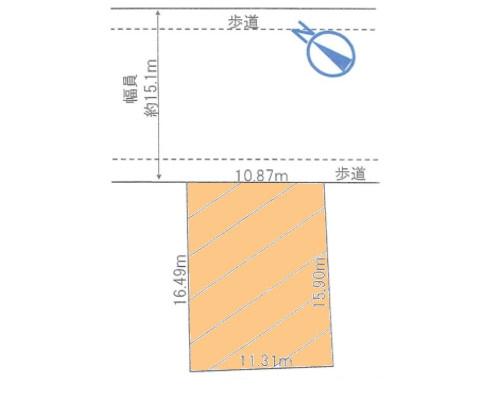 足立区 千代田線北千住駅の売事業用地画像(1)