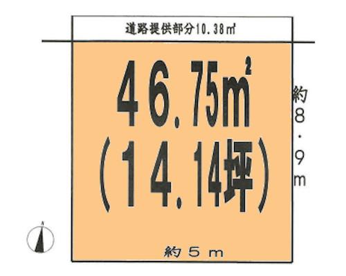 中野区 丸の内線新中野駅の売事業用地画像(1)