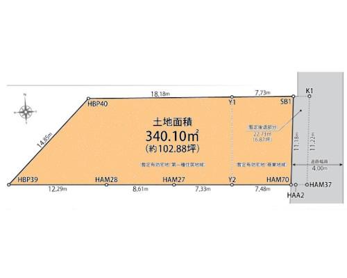 北区 JR京浜東北線王子駅の売事業用地画像(1)