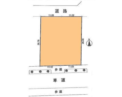 小平市 西武国分寺線小川駅の売事業用地画像(1)