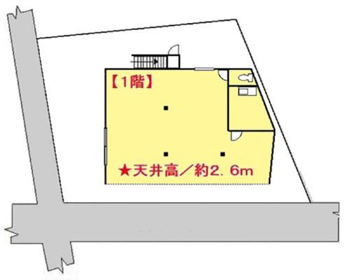 松戸市 北総線矢切駅の貸倉庫画像(1)