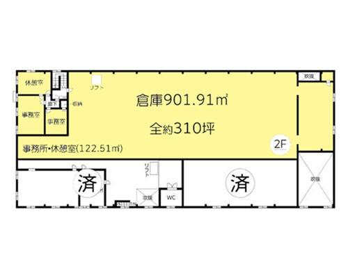 千葉市美浜区 JR京葉線千葉みなと駅の貸倉庫画像(2)