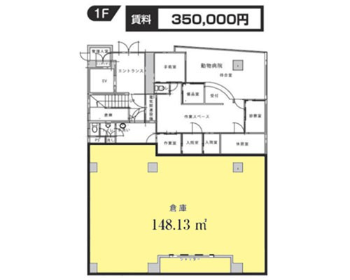 船橋市 新京成電鉄新京成線滝不動駅の貸倉庫画像(1)