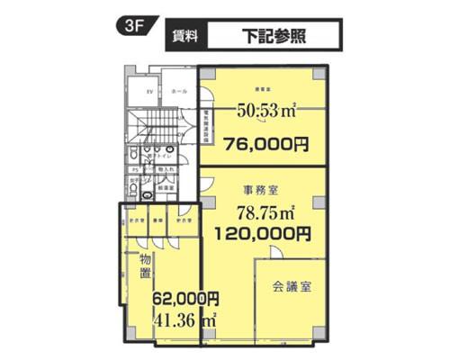 船橋市 新京成電鉄新京成線滝不動駅の貸倉庫画像(3)
