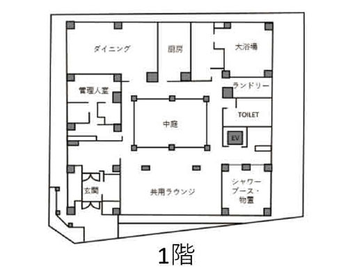 市川市 東京メトロ東西線南行徳駅の貸寮画像(1)
