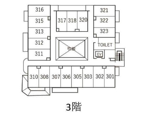 市川市 東京メトロ東西線南行徳駅の貸寮画像(3)