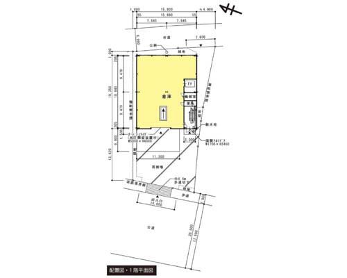秦野市 小田急線秦野駅の貸倉庫画像(1)