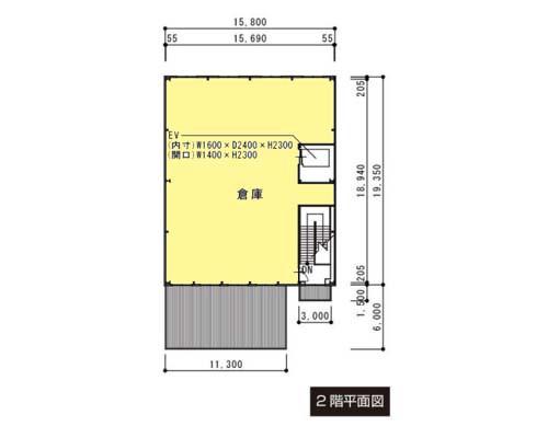 秦野市 小田急線秦野駅の貸倉庫画像(2)