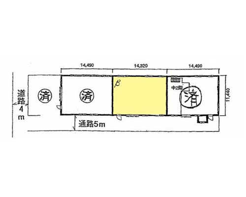横浜市都筑区 JR横浜線小机駅の貸倉庫画像(1)
