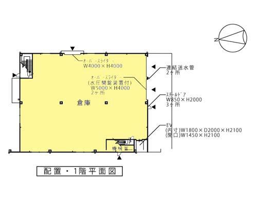 横浜市金沢区 金沢シーサイドライン線並木北駅の貸工場・貸倉庫画像(1)