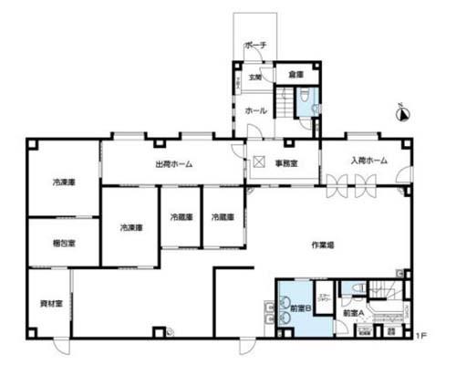 厚木市 小田急小田原線本厚木駅の貸工場・貸倉庫画像(1)