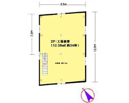 横浜市都筑区 グリーンライン東山田駅の貸工場・貸倉庫画像(2)