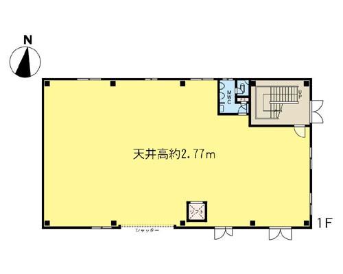 横浜市港北区 東横線綱島駅の貸工場・貸倉庫画像(1)