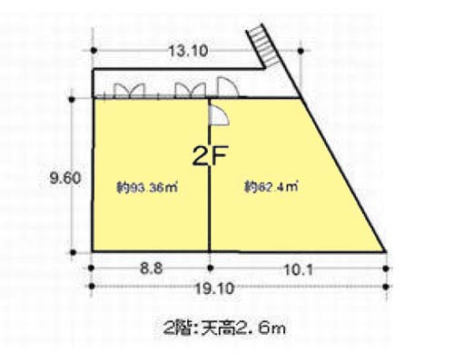 川崎市幸区 JR南武線矢向駅の貸工場・貸倉庫画像(2)