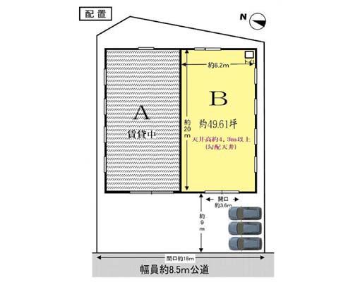 横浜市鶴見区 JR京浜東北線鶴見駅の貸倉庫画像(1)