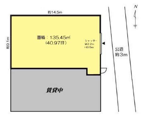 横浜市港北区 ブルーライン仲町台駅の貸倉庫画像(1)