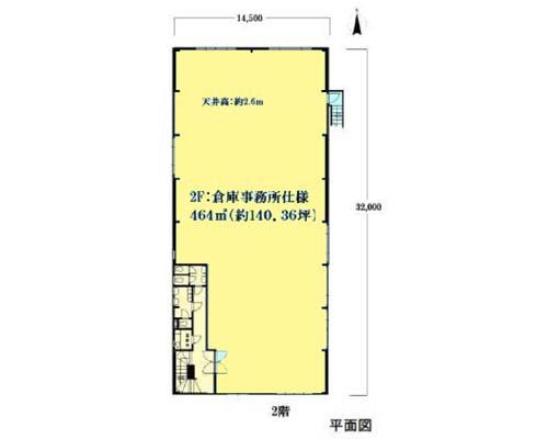 横浜市港北区 ブルーライン新羽駅の貸倉庫画像(2)