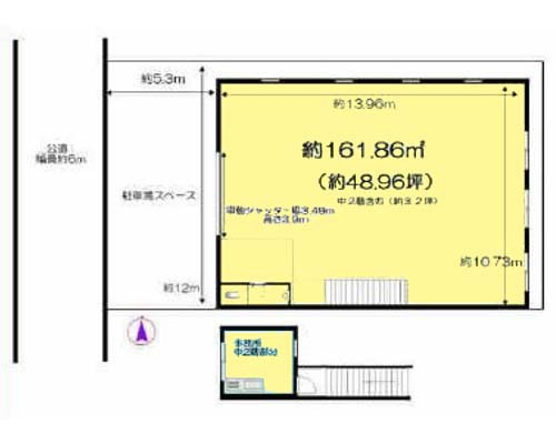 横浜市都筑区 ブルーライン新羽駅の貸工場・貸倉庫画像(1)