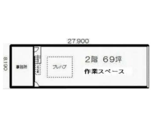 横浜市港北区 ブルーライン北新横浜駅の貸工場・貸倉庫画像(2)
