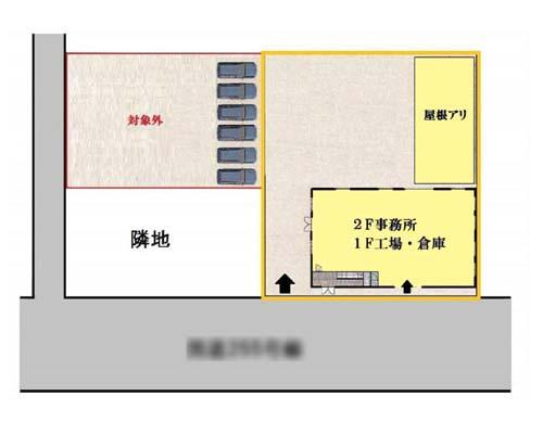 小田原市 御殿場線下曽我駅の貸工場・貸倉庫画像(1)