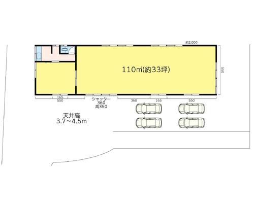 横浜市旭区 相鉄線三ツ境駅の貸倉庫画像(1)