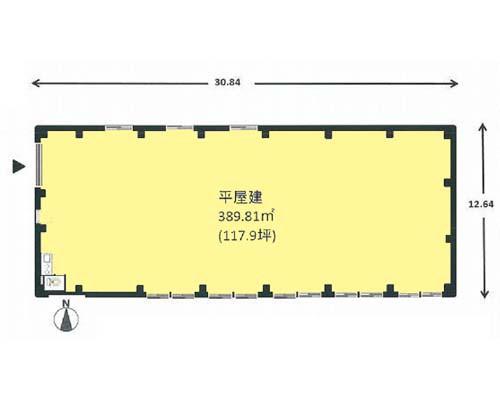 綾瀬市 小田急江ノ島線桜ヶ丘駅の貸倉庫画像(1)