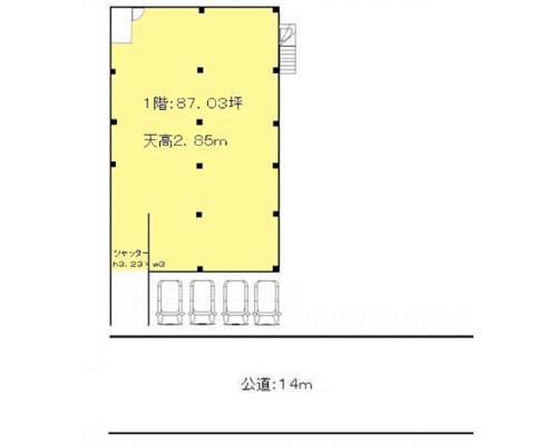 横浜市港北区 グリーンライン高田駅の貸工場・貸倉庫画像(1)