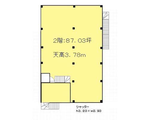 横浜市港北区 グリーンライン高田駅の貸工場・貸倉庫画像(2)