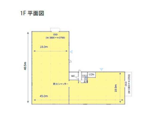 厚木市 小田急小田原線愛甲石田駅の貸工場・貸倉庫画像(1)