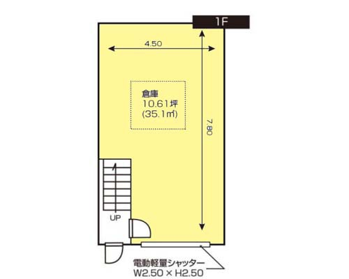 厚木市 小田急小田原線本厚木駅の貸倉庫画像(2)