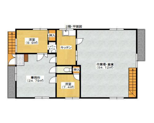 横浜市鶴見区 JR京浜東北線鶴見駅の貸工場・貸倉庫画像(2)