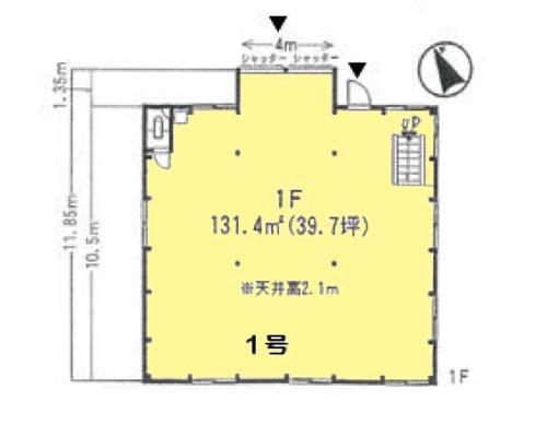 横浜市泉区 相鉄いずみ野線いずみ野駅の貸工場・貸倉庫画像(1)