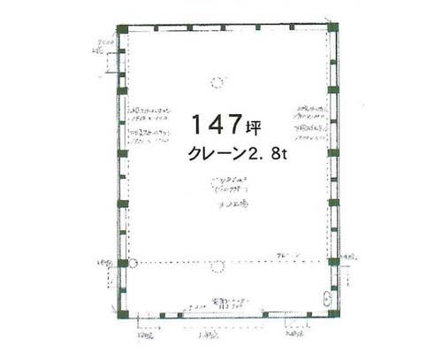 座間市 小田急小田原線小田急相模原駅の貸工場・貸倉庫画像(1)
