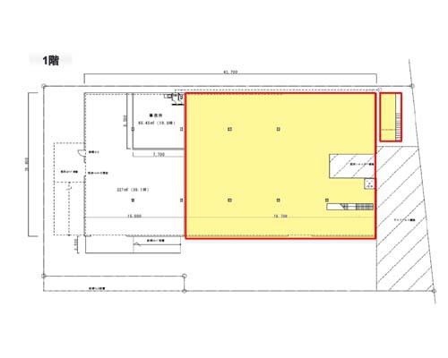 横浜市港北区 東急東横線大倉山駅の貸工場・貸倉庫画像(1)