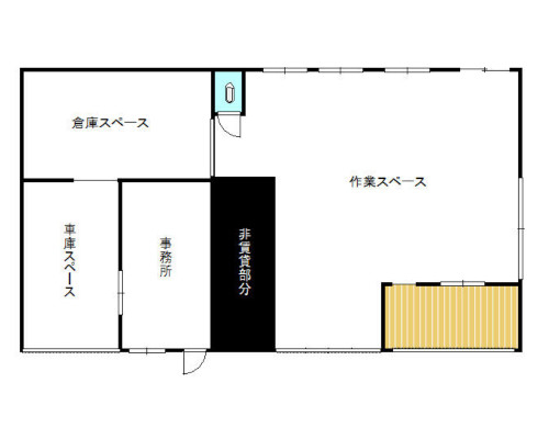 横浜市緑区 JR横浜線中山駅の貸倉庫画像(1)