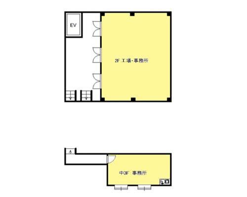 横浜市港北区 東急東横線綱島駅の貸工場・貸倉庫画像(2)