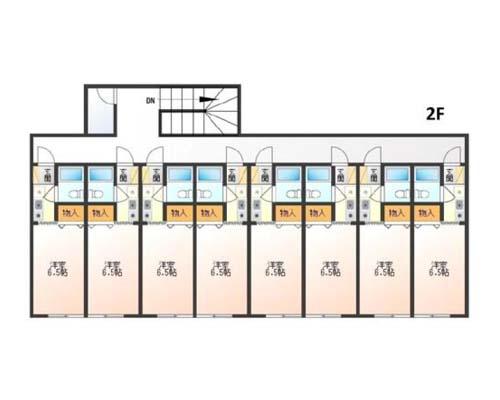 横浜市港北区 東急東横線菊名駅の貸寮画像(2)